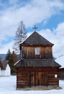 Drevený kostolík