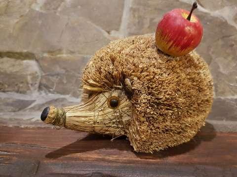 Slamený ježko