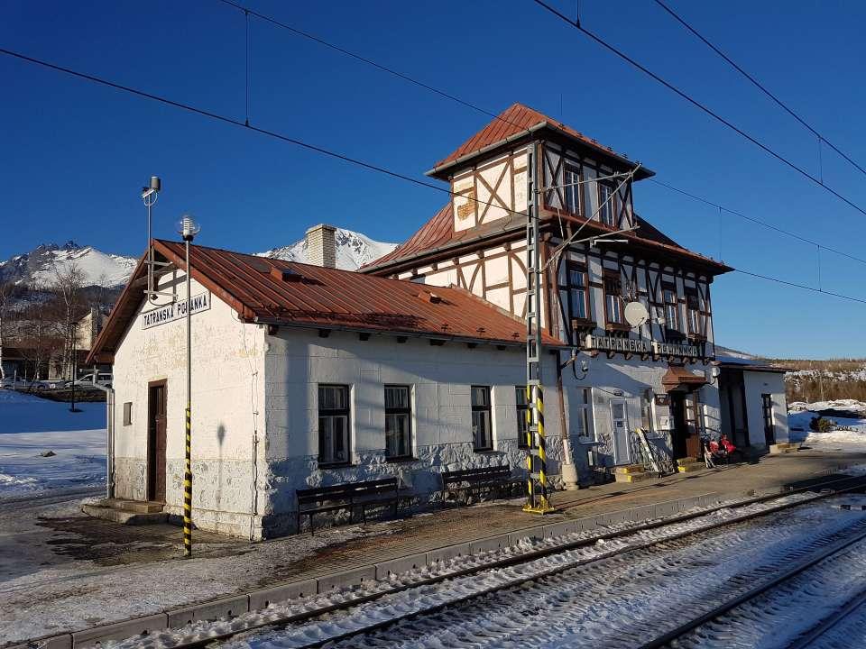 Zastávka Tatranská Polianka
