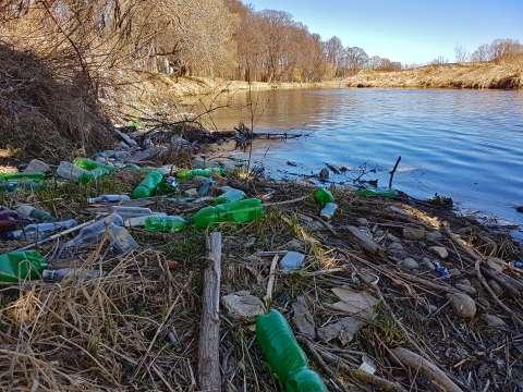 Znečistenie rieky