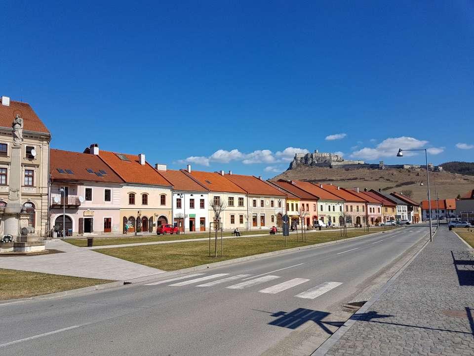 Spišské Podhradie-Mariánske námestie