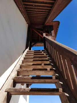 Drevené schody
