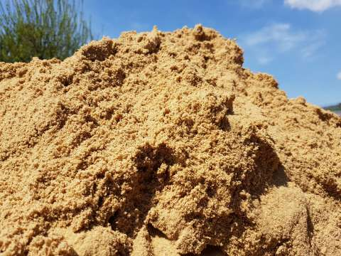 Kopa piesku