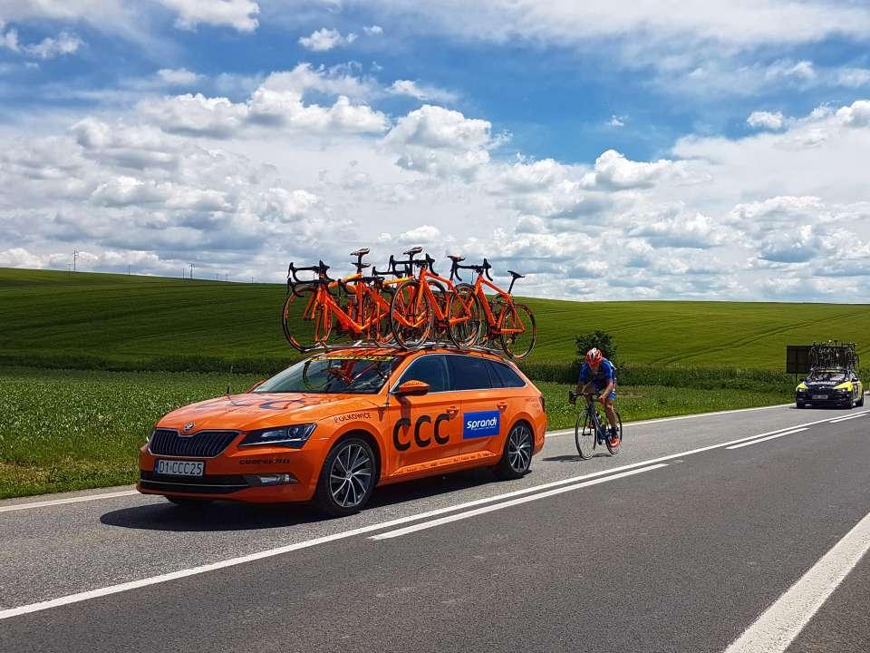 bicykle tímu CCC
