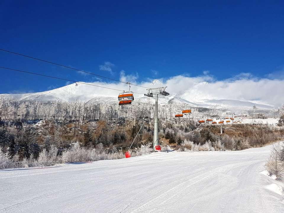 Lyžiarske stredisko Tatranská Lomnica
