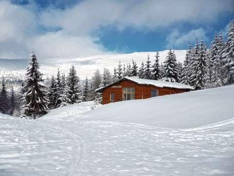 Horská chata v Prednom sedle