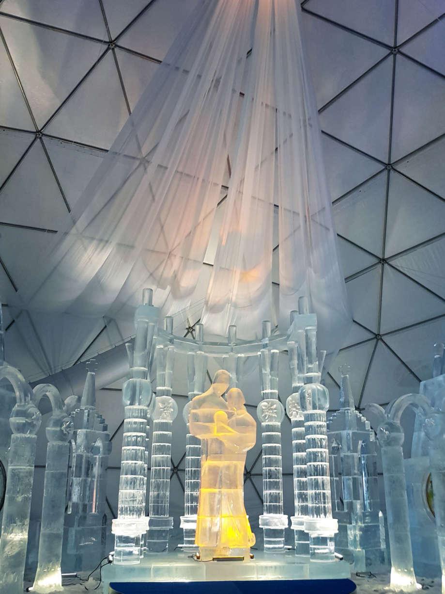 Ľadová-socha